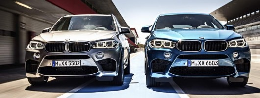 BMW reveals 575hp X5 M and X6 M. Image by BMW.