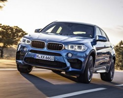 Incoming: BMW X6 M. Image by BMW.