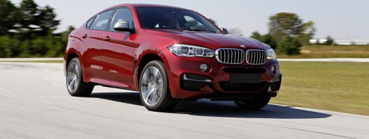 First drive: BMW X6 M50d. Image by BMW.