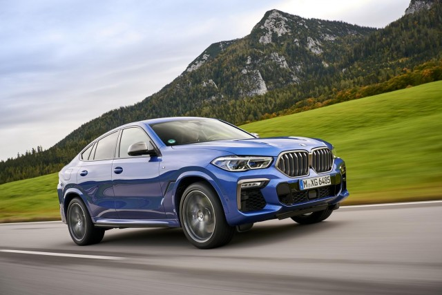 First drive: BMW X6. Image by BMW AG.