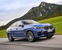 BMW X6 M50i tested. Image by BMW AG.
