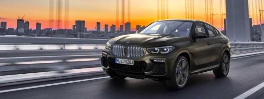 BMW unveils third take on X6 formula. Image by BMW.
