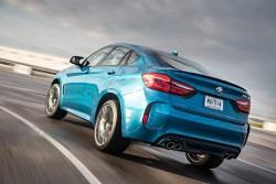 2015 BMW X6 M. Image by BMW.
