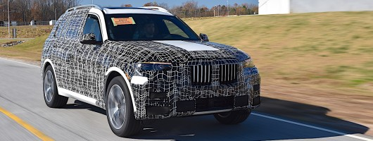 Pre-production of BMW X7 begins. Image by BMW.