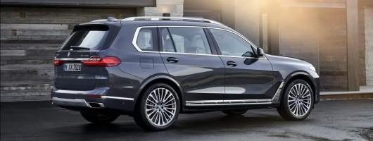 BMW reveals 2019 X7 SUV. Image by BMW.