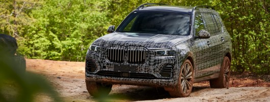 First drive: BMW X7 pre-production prototype. Image by BMW.