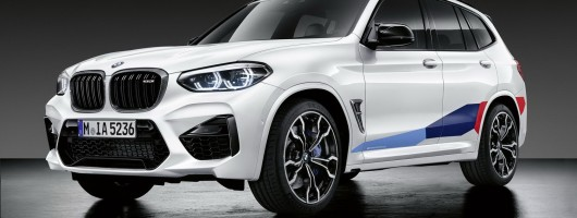 BMW confirms X3 and X4 M styling upgrades. Image by BMW.