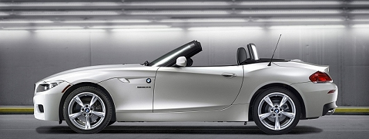 Four-cylinder turbo power for BMW Z4. Image by BMW.