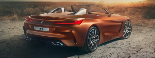 BMW Z4 previewed in Pebble Beach. Image by BMW.