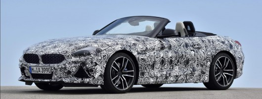 BMW reveals images of Z4 in testing. Image by BMW.