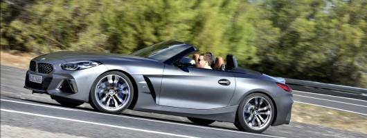 First drive: BMW Z4 M40i. Image by BMW.