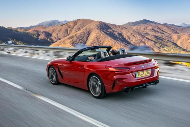 Driven: BMW Z4 M40i. Image by BMW UK.