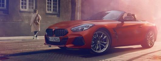 BMW Z4 Mk3 revealed to the world. Image by BMW.