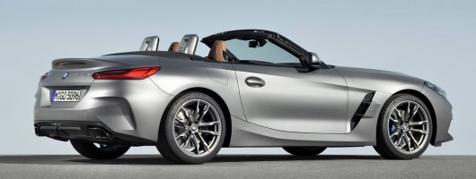 More BMW Z4 details emerge. Image by BMW.