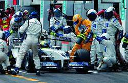 Ralf Schumacher was 5th. Image by BMW. Click here for a larger image.