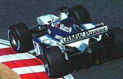 Juan Pablo Montoya, Williams, 4th place. Image by BMW. Click here for a larger image.