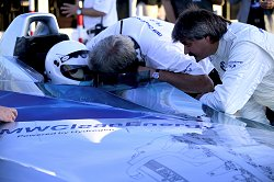 2004 BMW Hydrogen powered record-breaker. Image by BMW.