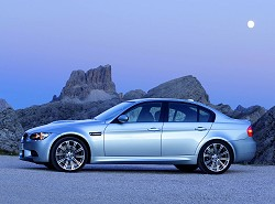 2008 BMW M3 saloon. Image by BMW.