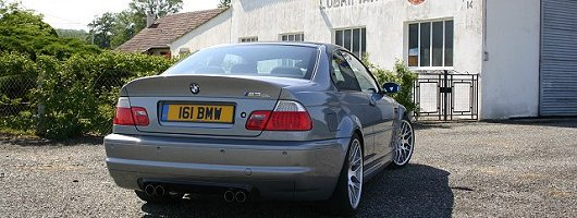 2004 BMW M3 CSL review. Image by Shane O' Donoghue.