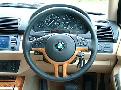 2003 BMW X5 3.0i. Photograph by Adam Jefferson. Click here for a larger image.