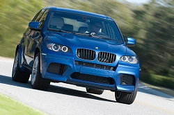 2009 BMW X5 M. Image by BMW.
