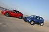 2009 BMW X6 M and X5 M.