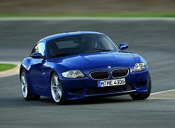 2006 BMW Z4 Coupe. Image by BMW.