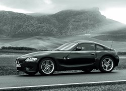 It's officially here: BMW Z4 Coupe. Image by BMW.