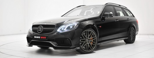 Brabus unleashes monster-wagon. Image by Brabus.
