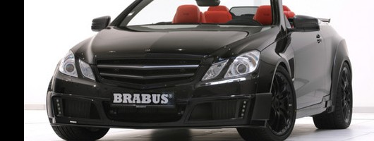 Fastest four-seat cabrio from Brabus. Image by Brabus.