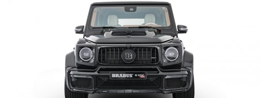 Megalomania: Brabus G V12 900 arrives at IAA. Image by Brabus.