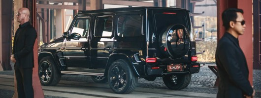 Brabus Invicto toughens up G-Class. Image by Brabus.