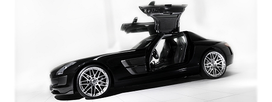 Brabus unveils ultimate SLS. Image by Brabus.