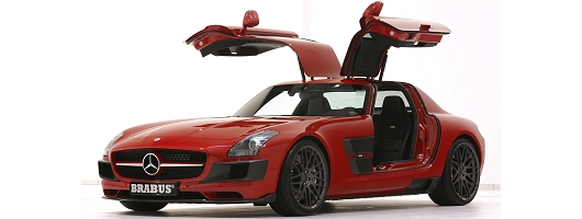 Mercedes SLS Brabus launched in Essen. Image by Brabus.