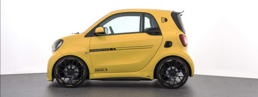 Ultra-rapid Brabus Ultimate E is a sports car for the electric city. Image by Brabus.