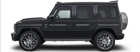 Brabus unleashes 500hp G-Class. Image by Brabus.