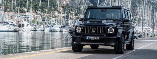 Mercedes G-Class gets Brabus tweaks. Image by Brabus.
