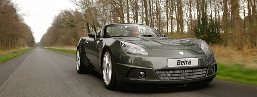 New Brit sports car revealed. Image by Breckland.