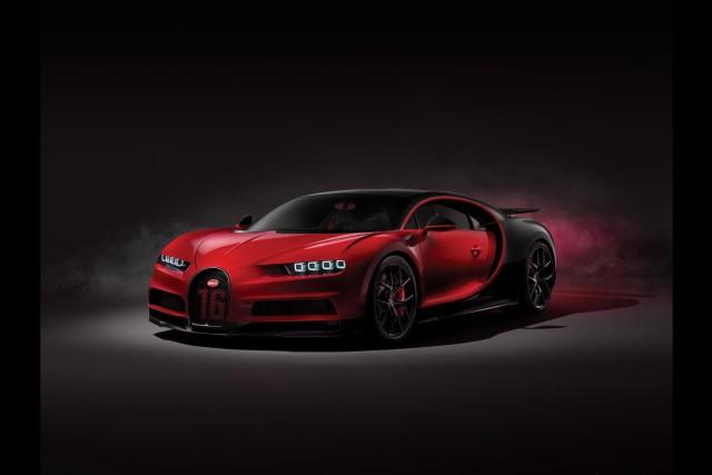 Bugatti Chiron tones up for Sport. Image by Bugatti.