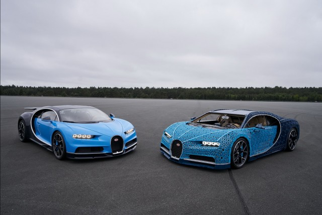 Lego recreates working Chiron... out of bricks. Image by Lego.