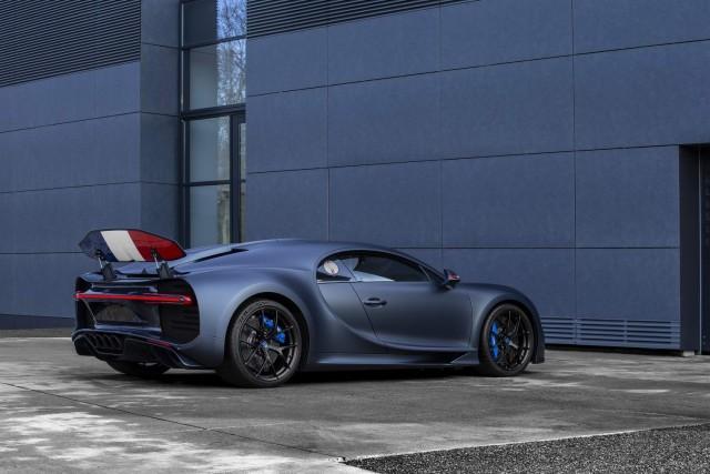 Bugatti heralds 110 years with special Chiron. Image by Bugatti.