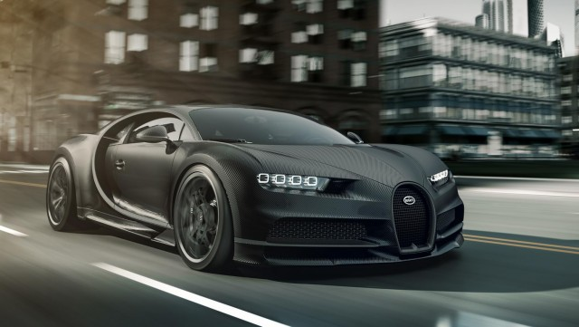 Two Chiron Noire editions crank up Bugatti's exclusivity. Image by Bugatti.