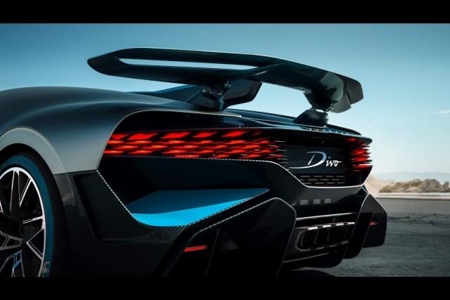 Bugatti's Divo is a slower, sharper Chiron. Image by Bugatti.