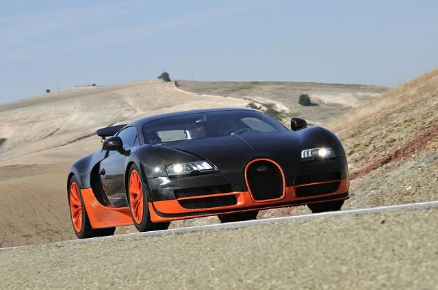 First Drive: Bugatti Veyron 16.4 Super Sport. Image by Max Earey.