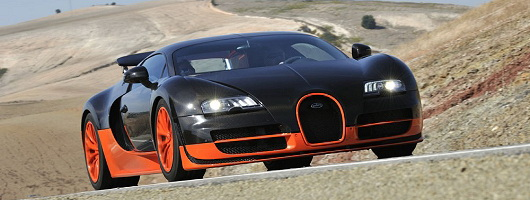 First Drive: Bugatti Veyron 16.4 Super Sport. Image by Max Earey.
