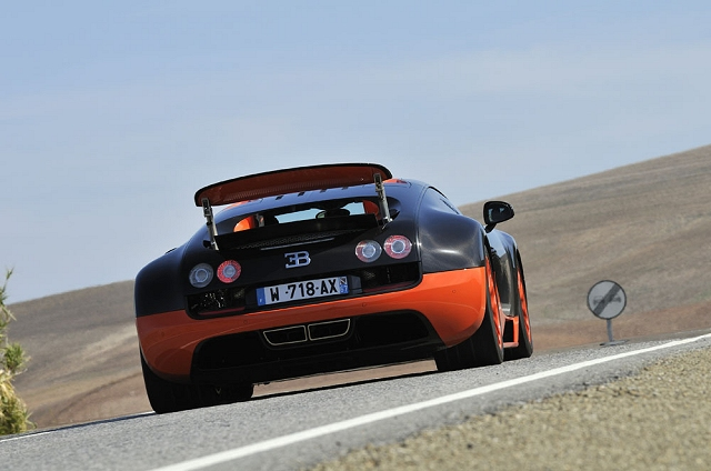 Last Bugatti Veyron sold. Image by Max Earey.