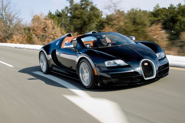 Wind in your hair at 267mph. Image by Bugatti.