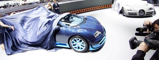Geneva 2012: Bugatti Veyron Vitesse. Image by Newspress.