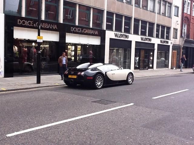 Afzal Kahn's Bugatti Veyron for sale. Image by Kahn.