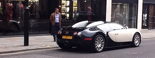 Afzal Kahn's Bugatti Veyron for sale. Image by Kahn.